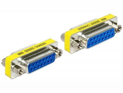 Imagine Adaptor Serial 15 pini M-M, Delock 65480