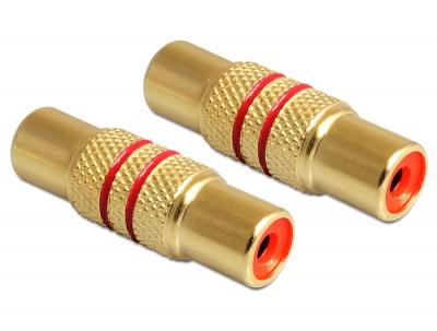 Imagine Adaptor RCA M-M conectori auriti, Delock 84503
