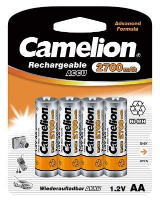 Imagine Acumulatori AA Ni-MH 2700mAh, Blister 4 buc,Camelion