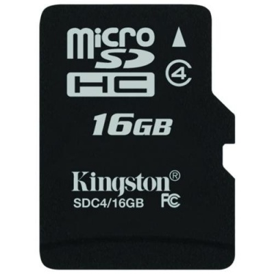 Imagine Secure Digital Card micro SDHC 16GB class 4 Kingston