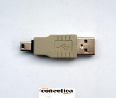Imagine Adaptor USB A la mini USB-B Casio T-T