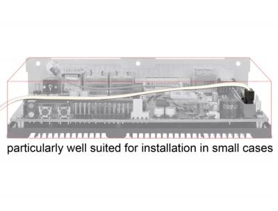 Imagine Cablu SATA III FLEXI 6 Gb/s 100 cm white metal, Delock 83556-4