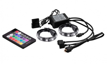 Banda LED RGB COLOR 3 culori, telecomanda, DeepCool RGB350