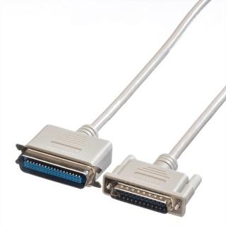 Cablu imprimanta paralel bidirectional DB25 la Centronics 9m, Roline 11.01.1090