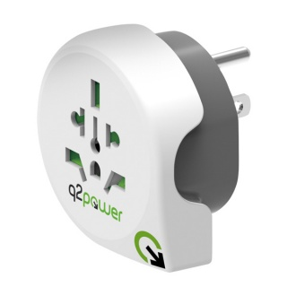 Adaptor World (EU, USA, UK) la USA, Q2POWER 19.07.1572