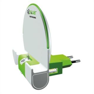 Dock & Incarcator priza cu micro USB 2.1A, Q2POWER 19.07.1594