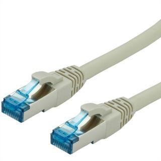 Cablu de retea SFTP cat 6A 1.5m gri, Value 21.99.1990