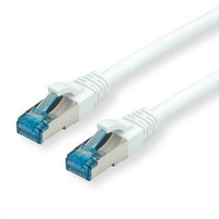 Cablu de retea SFTP cat 6A 1.5m alb, Value 21.99.1996