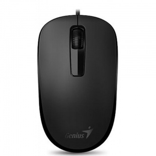 Mouse Negru DX-125 USB, Genius 31010106100