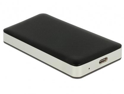 Rack extern M.2 Key B 42 mm / mSATA SSD la USB-C 3.1 Gen 2, Delock 42592