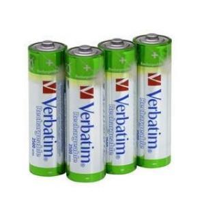 ACUMULATORI AA LR6 NiMH 2450mAh 4buc/blister, Verbatim 49941