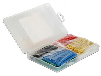 Tuburi termocontractabile colorate 230 buc/set, Delock 86278