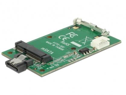 Convertor SATA 7 pini la mSATA full size, Delock 62511