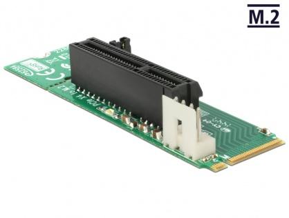 Adaptor M.2 Key M la slot PCI Express x4, Delock 62584