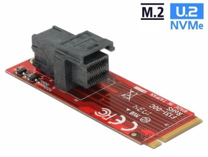 Adaptor M.2 Key M la SFF-8643 NVMe, Delock 62721