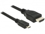 Cablu micro USB-B MHL 3.0 la HDMI 4k 2m, Delock 83649