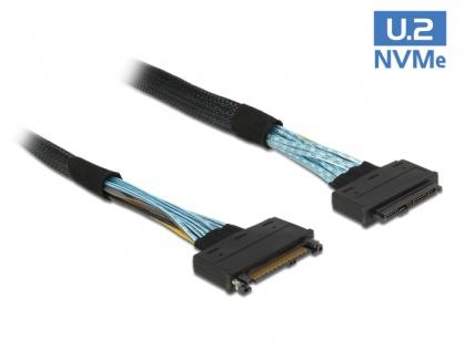 Cablu prelungitor U.2 SFF-8639 T-M 0.5m, Delock 84829
