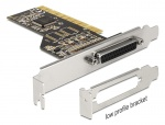Placa PCI cu 1 x port Paralel DB25,  Delock 89362