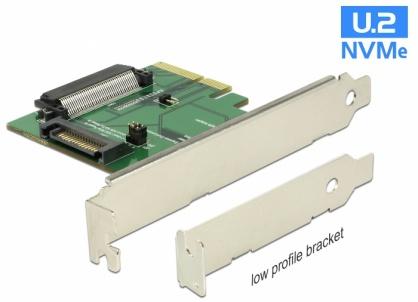 PCI Express la un port intern mama U.2 NVMe SFF-8639, Delock 89672
