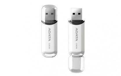 Stick USB 2.0 cu capac 8GB C906 Alb, ADATA