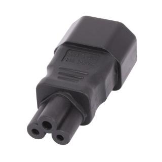 Adaptor IEC C5 Mickey Mouse la IEC C14 3 pini M-T, Lindy L30453