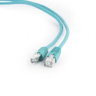 Cablu de retea FTP cat 6 1m verde, Gembird PP6-1M/G