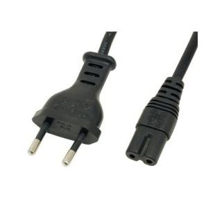 Cablu alimentare Euro la IEC C7 (casetofon) 2 pini 1.8m, Gembird PC-184/2