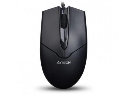 Mouse cu fir USB V-track Padless Negru, A4TECH N-301