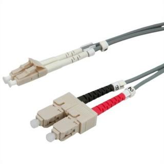 Cablu fibra optica LC-SC duplex multimode 2m, Value 21.99.9852