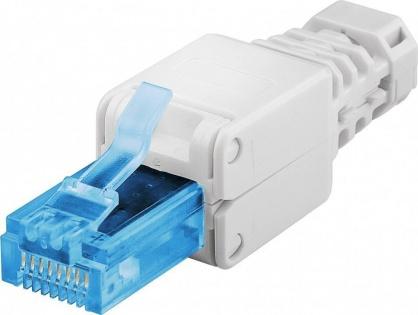 Conector de ansamblat RJ45 cat. 6A UTP, Goobay 59227
