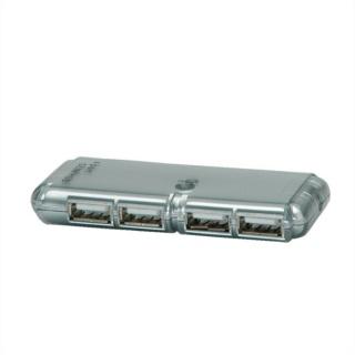 Hub USB 2.0 4 porturi cu alimentare, Value 14.99.5016
