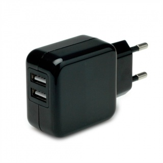 Incarcator priza cu 2 x USB 10W/2A, Value 19.99.1064