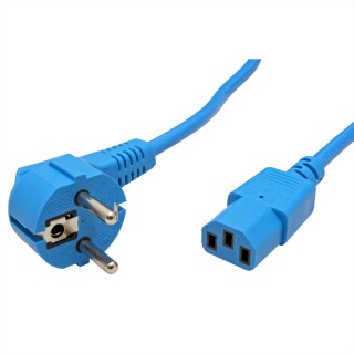 Cablu alimentare PC C13 1.8m Albastru, Roline 19.08.1012