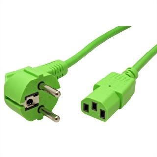 Cablu alimentare PC C13 1.8m Verde, Roline 19.08.1013