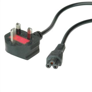 Cablu de alimentare UK la C5 Mickey Mouse 2.5A 1.8m Negru, Value 19.99.2016