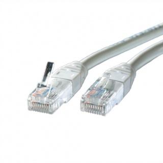 Cablu retea UTP Cat.5e, gri, 7m Cupru, Roline 21.15.0507