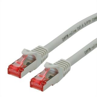 Cablu de retea SFTP cat 6 Component Level LSOH gri 0.3m, Roline 21.15.2951