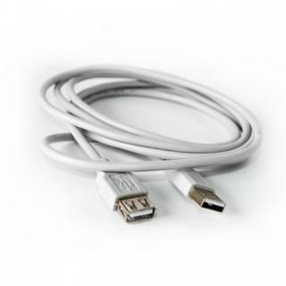 Cablu prelungitor USB 2.0 T-M Gri 2m, KTCBLHE14029