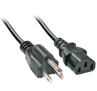 Cablu de alimentare C13 la US 3 pini 2m, Lindy L30338