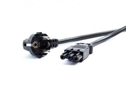 Cablu de alimentare Schuko la GST18-3 3m negru, Bachmann 375.003