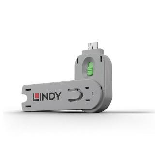 Cheie pentru blocarea portului USB-A (L40461 & L40451) Verde, Lindy L40621