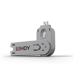 Cheie pentru blocarea portului USB-A (L40464 & L40454) Alb, Lindy L40624