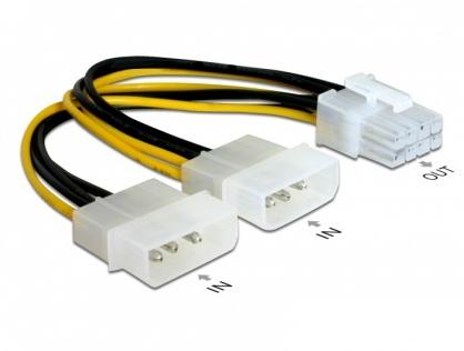 Cablu alimentare PCI Express 8 pini, Delock 82397