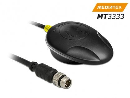 NL-3330 M8 Serial Multi GNSS Receiver MT3333 0.5m, Navilock 60325