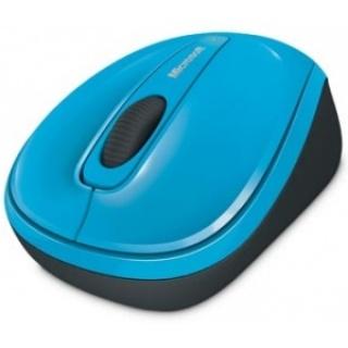 Mouse Wireless BlueTrack Mobile 3500 albastru, Microsoft