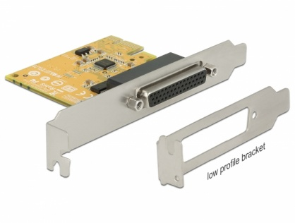 PCI Express la 2 x Serial RS-232 high speed 921K protectie ESD, Delock 62996