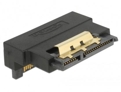 Adaptor SATA 22 pini T-M unghi 90 grade jos, Delock 63943