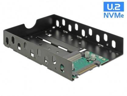 """Convertor U.2 SFF-8639 la U.2 SFF-8639 cu frame 3.5"""", Delock 63956"""