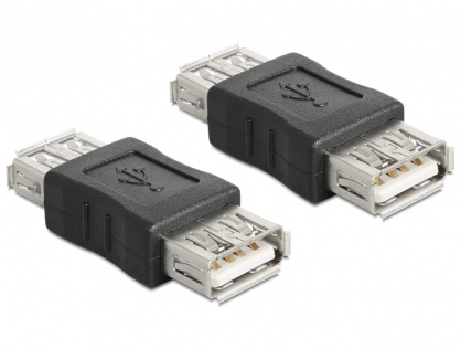 Adaptor USB 2.0 M-M, Delock 65012
