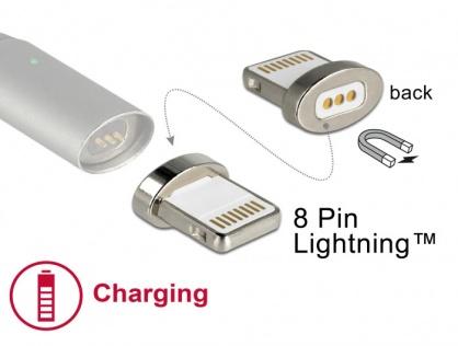 Conector magnetic pentru incarcare iPhone Lightning pentru 85705/85725, Delock 65928